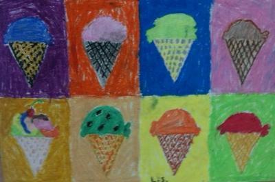 Ice Cream 8-up -- 1st Grade