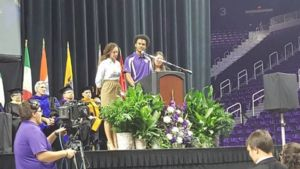 Michael Brown addresses K-State